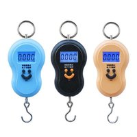 3 Colors Home Kitchen Luggage scales 50kg 10g digital hangin...