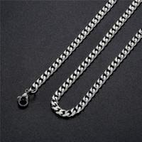 Großhandel 6 MM Edelstahl NK Figaro Kette Halskette Länge 40 CM / 50 CM / 55 CM / 60 CM / 70 CM Mode Trendy männer Schmuck Rock Hip Hop Stil