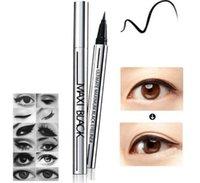 Оптом красота черная водонепроницаемая жидкая подводка для глаз глаз лайнер карандаш макияж косметика горячая макиагема
