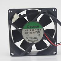Original SUNON 8025 12V 1.8W KD1208PTS1 80 * 80 * 25MM power supply fan chassis fan