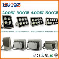 Led Işıklandırmalı 85-265 V 200 W 300 W 400 W 500 W led Açık COB LED Sel ışık lamba su geçirmez Tünel ışıkları sokak aydınlatma