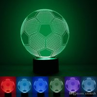 3D LED Night Lights Decoration Christmas Light Table Lamp 7 ...