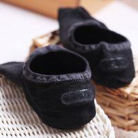 Sommer Männer Mode Mesh Boot Socken Bambusfaser Rutschfeste Unsichtbare Söckchen Männliche Socke Hausschuhe 5 paare / los Großhandel