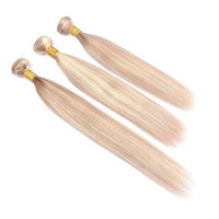 Piano #27 613 Highlight Human Hair Bundles 3Pcs Silk Straigh Ombre Honey Blonde Piano Mix Color Virgin Brazilian Human Hair Wefts Extensions