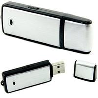 Gravador de Som USB - 8GB Dispositivo de Gravação de Voz - Gravador de Áudio Digital - Sem Luz Intermitente Ao Gravar PQ141