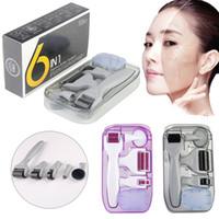 DRS derma rolller kit DRS 6 in 1 dermaroller Titanium Derma Roller Kit rullo 12/300/720/1200 Aghi Microneedle
