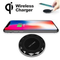 Qi Wireless Fast Charger 9V Charging Pad Samsung Galaxy Note...