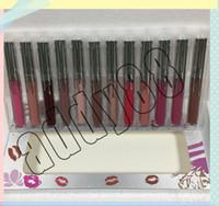 Nuovo Marca Makeu 12 colori Silver Series trucco liquido Rossetti vacanze Matte Lip Gloss Labbra a lunga durata Lovesick Valentine Infatuation