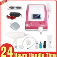 Touch Screen ND Yag Laser Q Switched Laser Tattoo Removal Ma...