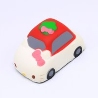 Cute Jumbo kawaii Simulation hello kitty car Slow Rising Squ...