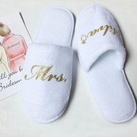 personalized Bridesmaid slippers maid of honor gifts wedding...