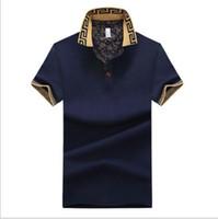 Designer di marca-Polo da uomo Polo Designer Polos Uomo Maglie manica corta magliette da uomo T-Shirts abbigliamento golftennis
