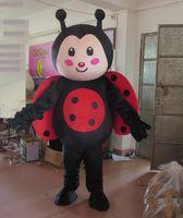 Yetişkin için 2018 Yüksek kalite sıcak yetişkin uğur böceği maskot kostüm giymek