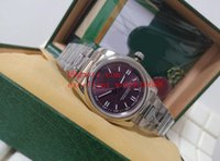 Горячие Продают Унисекс Часы 36 мм 116000 176200 Нержавеющая Сталь Азии 2813 Автоматические механические Унисекс Наручные Часы Часы