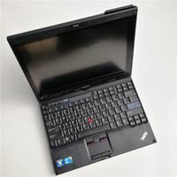 Para la tableta usada x201t segunda mano i7,4g touch sceen computadora de diagnóstico automático para mb star c4 c5 para bmw icom next