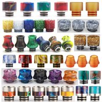 510 PEI Epoxy Resin Drip Tips Wide Bore Gourd Drip Tip Mouth...