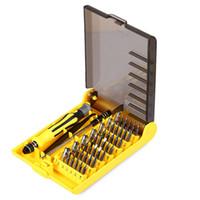 Бесплатная доставка супер сделка точность 45 в 1 электрон Torx мини магнитная отвертка набор инструментов ручной набор инструментов телефон PC ремонт инструменты с коробкой
