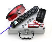 BBX3-II 450nm Puntatore laser blu con messa a fuoco regolabile con caricabatterie