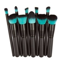 Hot 10pcs Cosmetic Makeup Brush Face Powder Eyeshadow Blush ...