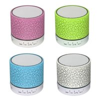 A9 mini sem fio bluetooth speaker w / led mãos livres tf cartão usb super bass altifalante portátil estéreo mp3 player de música