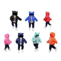 Autumn and Winter New Children Down Coat Light and Thin Cott...