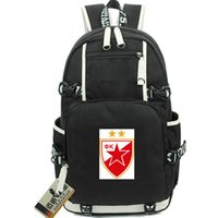 Belgrado Red Star Mochila Crvena Zvezda Belgrad Day Pack Football School Bag FK Packsack Mochila Mochila Deporte Schoolbag Out Puerta Daypack