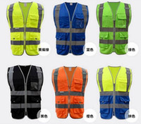 High Quality Reflective Safety Clothing Visibility Working S...