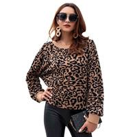 Autunno e inverno nuove ed europee europee e americane abbigliamento Maglione tendenza modello leopardo