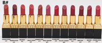 New Makeup Matte Lipstick 3g 12 Colori Tom Lipstick Antiaderente Tazza Rossetti Marca Make up rouge a levre Kit Lip