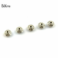 BoYuTe (200 Pieces Lot) 6*8MM Antique Silver Plated Zinc All...
