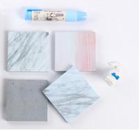 Мраморный цвет блокноты Примечания самоклеющиеся блокнот заметки школьный офис главная блокноты питания