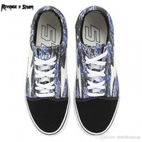 c5c25a05b1 2018 New Athentic Vans ® Revenge X Storm Pop-up Store Old Skool Canvas Mens  Designer Sports Running Shoes for Men Sneakers Casual Trainers