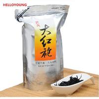 Caliente 250g Sales chino Negro Orgánica té rojo grande del traje de Dahongpao Oolong Wulong Health Care Nuevo té verde alimentos cocidos