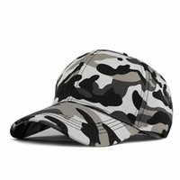 2018 Fitted Hat Baseball Cap Casual Camouflage casquette Sna...