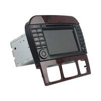 GPS를 가진 벤츠 S 종류 W220 / S280 / S320 / S350 7 인치 Andriod를위한 차 DVD 플레이어, 핸들 통제, 블루투스, 라디오, 2GB 렘