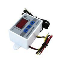 220 V 12 V 24 V Dijital LED Sıcaklık Kontrol su geçirmez sensörü ile 10A Termostat Kontrol Anahtarı Probu W3002