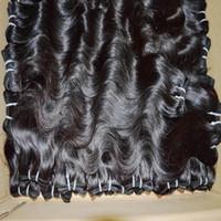 الوقت السعيد رخيصة معالج النسيج 6 قطعة / الوحدة موجة الجسم بيرو الشعر البشري ملحقات جميلة حزم الحب