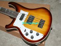 Toptan Yeni En Kaliteli Sol Handed 4 dize 4003 Kiraz sunburst elektrik bas gitar