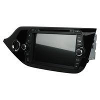Lecteur DVD De Voiture Pour Kia CEED 2014 8 pouces Octa-core 4 GB RAM Andriod 8.0 avec GPS, Commande Au Volant, Bluetooth, Radio