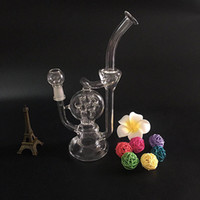 New good function Recycler bong glass oil rig glass smoking ...