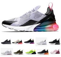 2019 Nike Air Max 270 airmax 270 Zapatillas de moda para hombre Malla informal Respirable Slip-on Tamaños grandes Pisos Zapatos para mujer Amantes Zapatos casuales