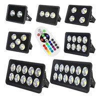 Новый прибывший CE RGB Led прожектор 85-265 в 100 Вт 150 Вт 200 Вт 300 Вт 400 Вт 500 Вт 600 Вт светодиодный открытый прожектор водонепроницаемый светодиодные фонари уличное освещение
