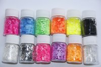 Butterful Neon Colors Solvent Resistant Glitter Butterfly Sh...