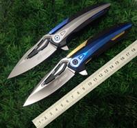 새로운 전술 접는 나이프 고품질 제로 공차 ZT0999 EDC 도구 포켓 나이프 야외 서바이벌 나이프 사냥 칼 무료 배송