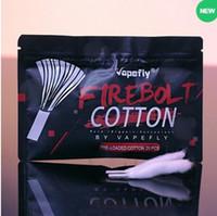 100% Аутентичные Vapefly Firebolt Органический Хлопок для DIY Coil Building Электронная Сигарета Запасная Часть Для DIY RDA RBA RTA