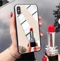 mirror case cover cell new product tpu pc tempered glass 3 i...