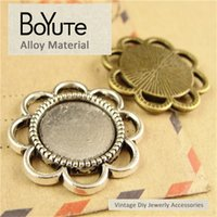 BoYuTe (60 Pieces Lot) 14MM Cabochon Base Vintage Diy Access...
