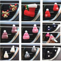 Christmas Car Air Humidifier Essential Oils Diffuser For Kni...