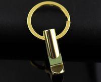 10 pz / lotto Mini Oro Portachiavi Apribottiglie Strumento EDC portachiavi portachiavi Keyfob Regalo Chiave Apri del Portachiavi