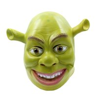 Verde Shrek Máscaras de Látex Filme Cosplay Animal Adulto Máscara Do Partido Realista Masquerade Prop Fancy Dress Party Halloween Máscara